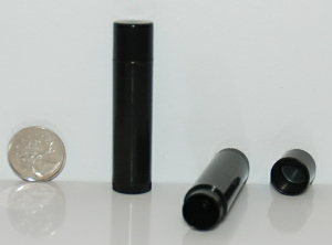 NEW Black Lip Balm Tubes