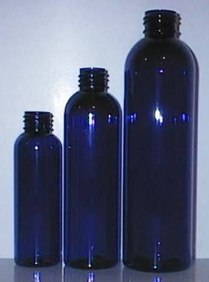 NEW Cobalt Blue PET Bullet Bottles!