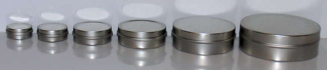 2015 line of shallow tin sets