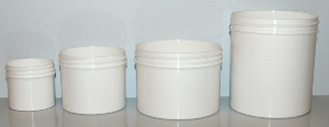 New Single Wall Polypropylene Jars